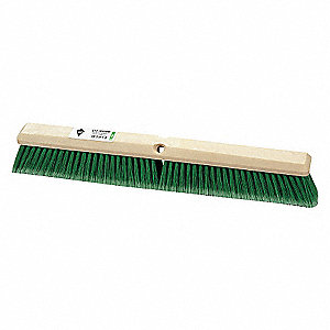 FINE SWEEPING BROOM SYNTHETIC 18IN