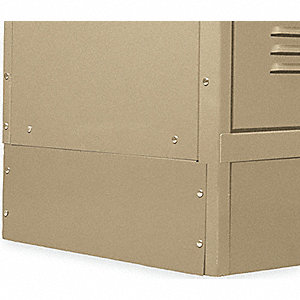 CL621 END BASE 12IN TAN