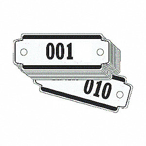 LOCKER TAGS NO. 101-200