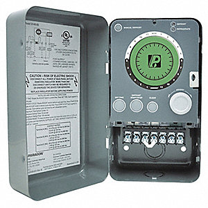 Defrost Timer Control, 120/208/240VAC Voltage, Defrost Time (Minutes): 15