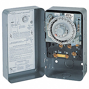 Defrost Timer Control, 120VAC Voltage, Defrost Time (Minutes): 4 to 110