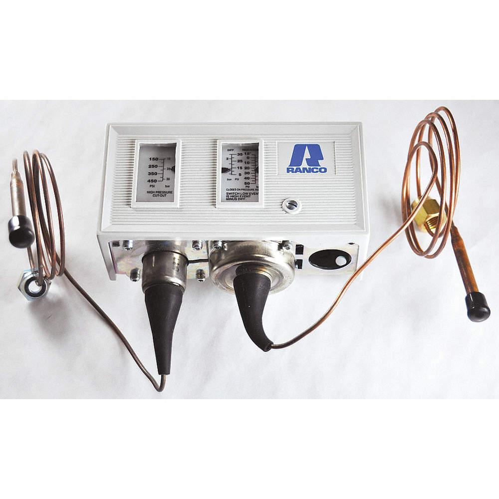 Ranco Highlow Pressure Control 120240v 12z407o12 1594 Grainger