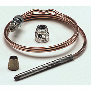 Repl Thermocouple,Threaded,18 In