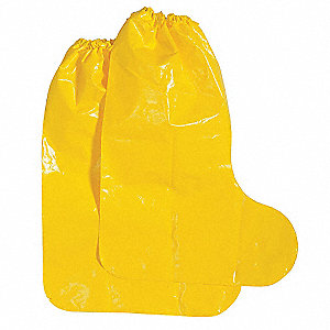 Boot Covers,M,Yellow,PK100