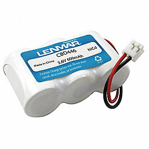 Cordless Phone Battery&#x3b; Replaces Genral Electric 5-2729, Sanik 1X3-2/3AF/D, 3SN 2/3A60-S-J1, SN2/3A6