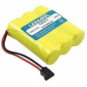 Cordless Phone Battery&#x3b; Replaces Southwestern Bell 508900
