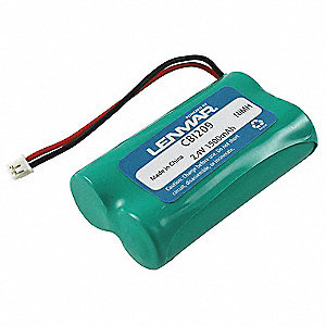 Cordless Phone Battery&#x3b; Replaces General Electric GE-TL26407, Panasonic HHR-P509, HHR-P509A, P-509A,