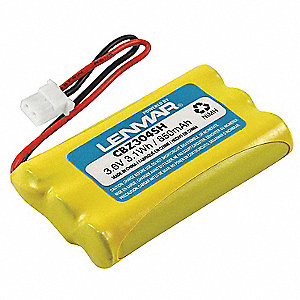 Cordless Phone Battery&#x3b; Replaces Southwestern Bell GH5812H, Empire CPH-488J, Sharp UX-BA01