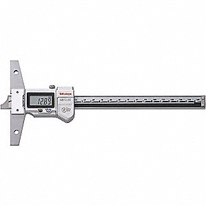DEPTH GAUGE, DIGIMATIC 0-12IN