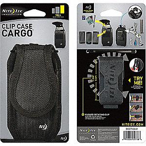CLIP CASE CARGO - TALL - BLACK