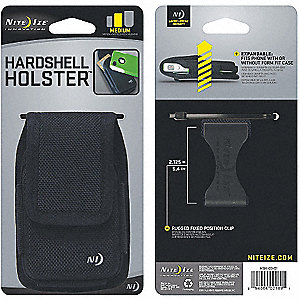 HARD-SHELL CASE FOR IPHONE - BLACK