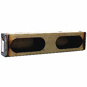 LIGHT BOX DOUBLE OVAL STEEL