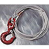 ROPE GALV W/HOOK 36FTX3/16IN - 5122