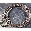 ROPE STAINLSS W/HK 28FTX3/16IN-5122