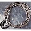 ROPE SS W/HOOK 36FTX1/4IN-5110/5124