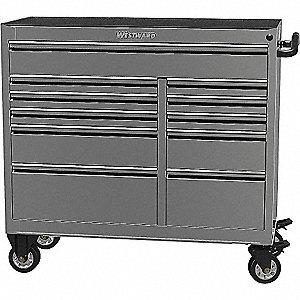 TOOL CABINET 41IN 11 DRWR SS