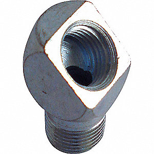 GREASE FITTING ADAPTER 45 DEG RD