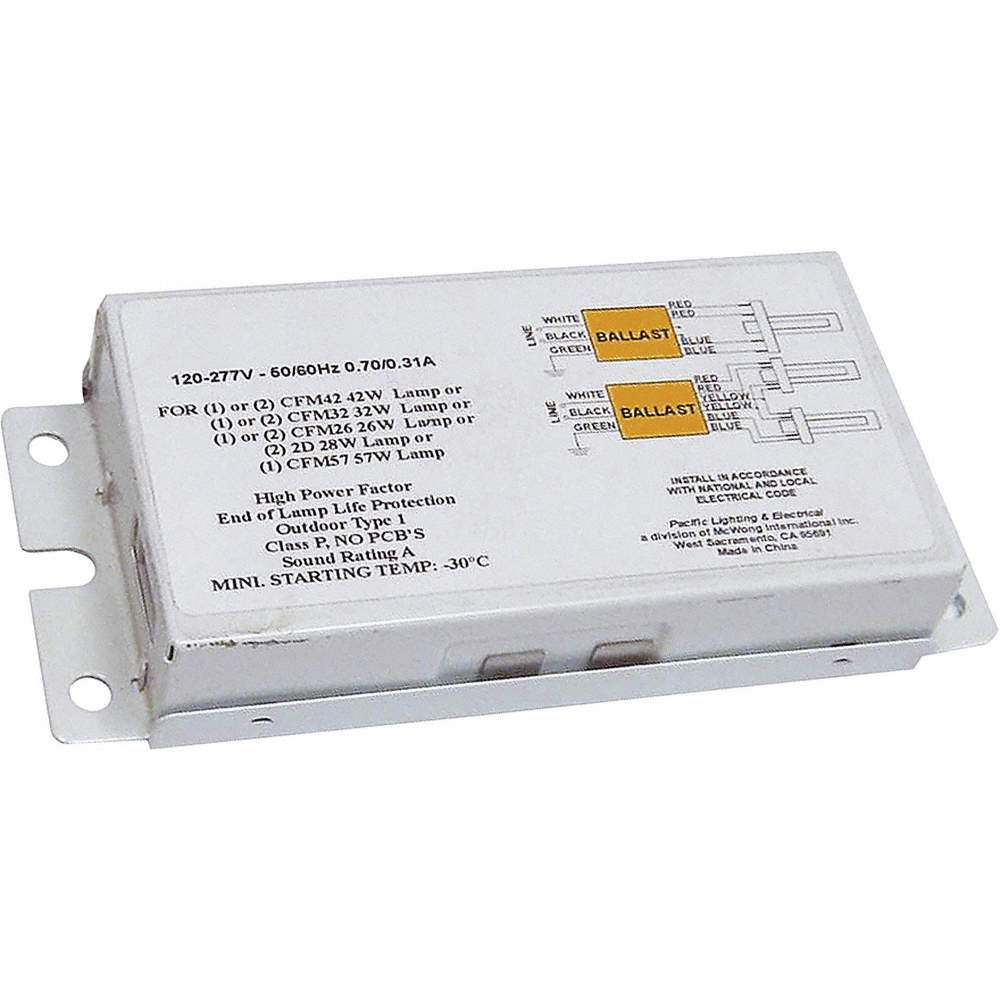 Lumapro Ballast Cfl Elect Input Watts 82 Ballasts Gge4kgl2 Electronic Circuit