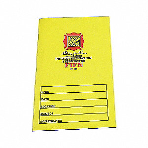 FIRE INVESTIGATION FIELD NOTES