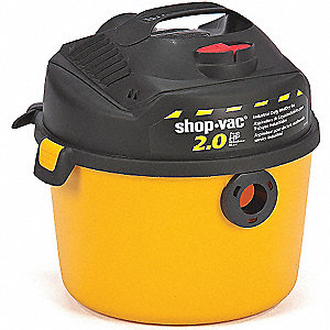 WET/DRY VAC 9.4 LITRE, 2 PEAK HP