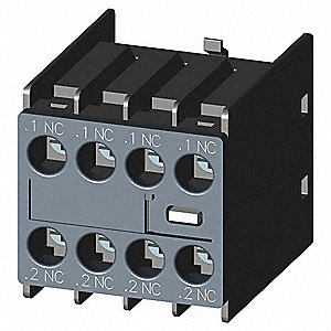 Auxiliary Contact Block, IEC Type, Front Mounting