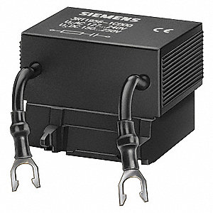 Surge Supressor, 48 to 127VAC/70 to 150VDC Voltage, For Use With 3RT1, S6-S12 Frame Contactors