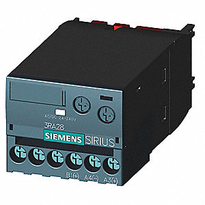 Timing Relay, 24 to 240VAC/DC Voltage, For Use With Front Mounting For 3RT2 Contactors