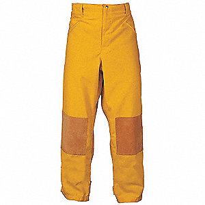 Turnout Pants,Yellow,3XL,Inseam 31 In.