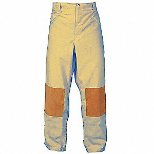 Turnout Pants,Tan,2XL,Inseam 31 In.