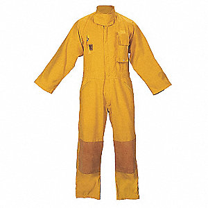 Turnout Coverall,Yellow,S