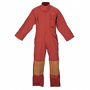 Turnout Coverall,Red,L
