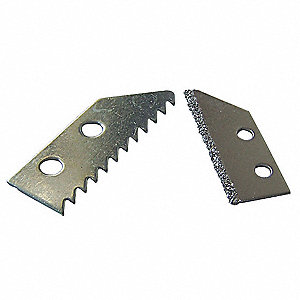 Grout Saw Blade,2x3/4 In,2 Pc,For 13A588
