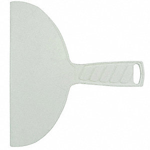 "Flexible Putty Knife with 8"" Polypropylene Blade, Green"