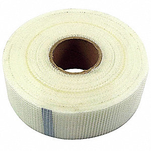 Drywall Mesh Tape, 2 In x 300 ft, Neutral
