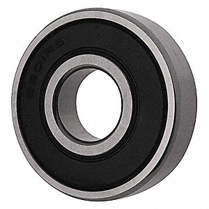 RADIAL BEARING,SEALED,BORE 12 MM