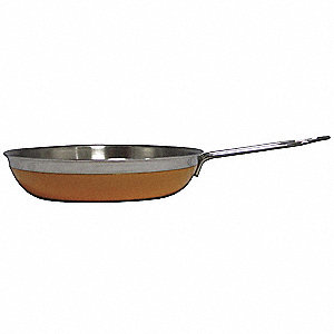 Stainless Steel Saute Pan/Skillet&#x3b; Capacity (Qt.): 2