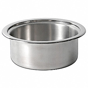 Stainless Steel Insert Pan&#x3b; Capacity (Qt.): 2