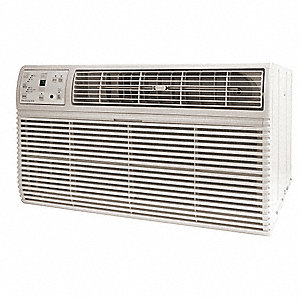208/230 Wall Air Conditioner, 14,000/13,600 BtuH Cooling, Cool Gray, Includes: Remote Control, Unive