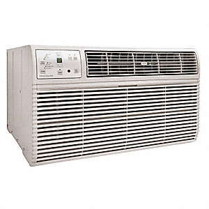 208/230V Wall Air Conditioner w/Heat, 1550/1520 Watts, 13,600/14,000 BtuH Cooling