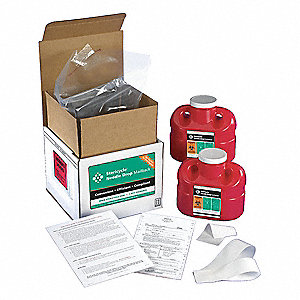 Sharps Mailback System,1 Gal.,Screw Lid