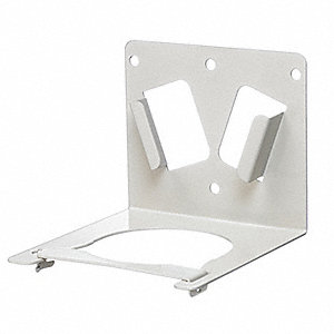 Mailback Bracket,Steel,White