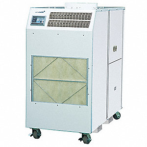 Commercial/Industrial 208/230VACV Portable Air Conditioner, 60,000 BtuH Cooling