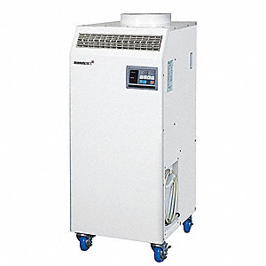 Commercial/Industrial 230/208VACV Portable Air Conditioner, 23,500 BtuH Cooling