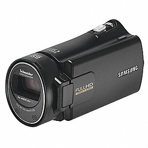 Camcorder with 5 Megapixels and 30X Optical Zoom