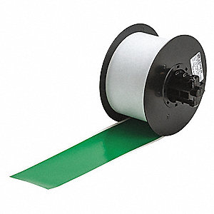 Label Tape Cartridge,Green,2.25Inx100ft