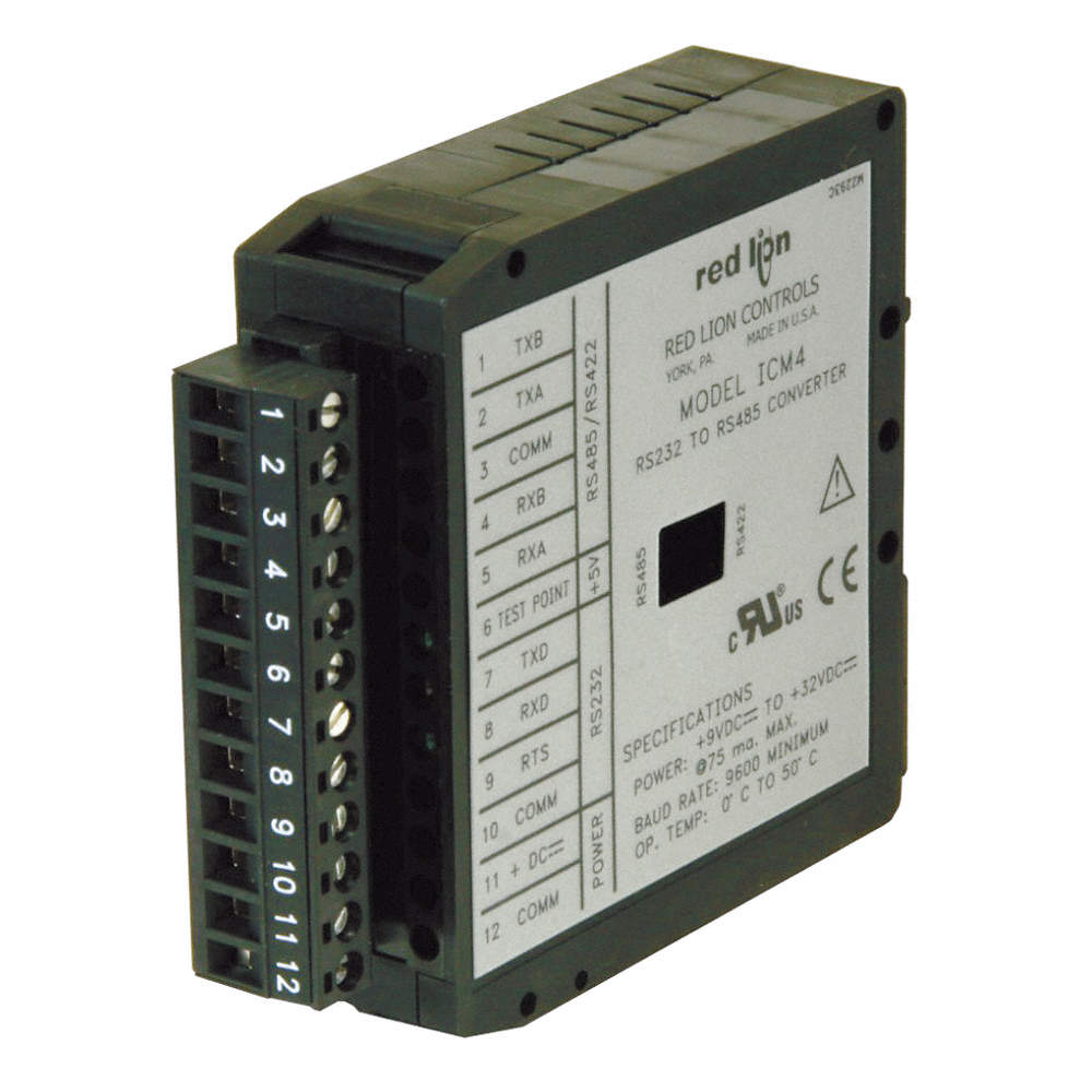 Red Lion Rs232 Rs485 Serial Converter Module 13c956 Icm40030 To Zoom Out Reset Put Photo At Full Then Double Click
