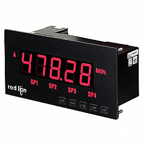 5-Digit Large Display for Analog MPAXDP
