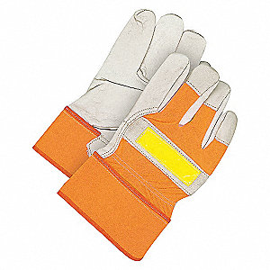 GLOVES GRAIN FITTER W/HIVIZ LADIES