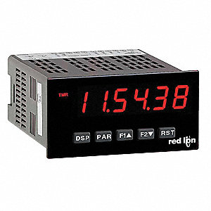 Preset Timer Red Display AC/DC