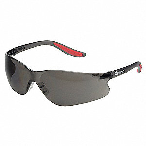 Safety Glasses,Gray,Hard Coat